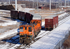 Together Again (Missabe Road) Tags: bnsf 3429 3702 versomill sw1500 mp15