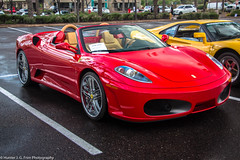 Beautiful Spider (Hunter J. G. Frim Photography) Tags: red arizona spider italian gray convertible ferrari supercar v8 f430 ferrarif430spider rossocorsa grigiosilverstone