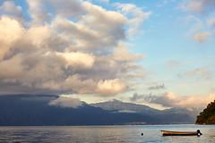 Lake Atitlan (NoahWmR12) Tags: water clouds canon volcano boat minolta mark guatemala iii 5d 58mm rokkor