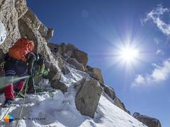 Blue-Bird weather (HendrikMorkel) Tags: mountains alps mountaineering chamonix alpineclimbing arêtedescosmiques arcteryxalpineacademy2015