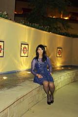 IMG_1854 (AsianDesert) Tags: sexy night high jane cd mary transgender thigh nighttime heels hi crossdresser crossdress platforms nylons bluedress