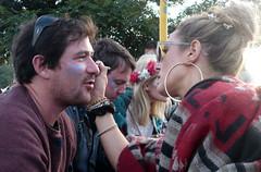 006 Glastonbury  Face painting (c.richard) Tags: festival livemusic bands glastonburyfestival avalon eavis worthyfarm isleofavalon glastonbury2015