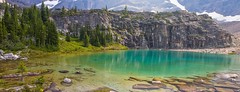 Mountain Oasis (dezzouk) Tags: nationalpark lakeohara lakeoesa canadianrockies