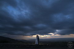 Facing Storms Together (RobertJinks) Tags: park blue wedding summer portrait storm color robert nova rain clouds landscape photography virginia dc washington nikon photographer marriage national valley shenandoah northern jinks 14mm rokinon photix