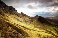 The Quiraing (Antonio Carrillo (Ancalop)) Tags: mountains skye sunshine canon scotland soft isleofskye escocia amanecer 09 lee 1740mm montaas density ecosse neutral quiraing gradual canon1740mmf4l neutra gnd densidad antoniocarrillo 5dmarkii highlads ancalop lucroit leesoft09gnd wwwantoniocarrillocom