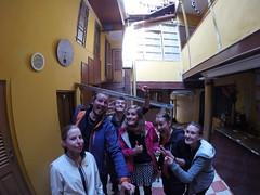 Photo de 14h - La Paz avec Marie, Mathilde, Anaïs et Maxime (Bolivie) - 27.07.2014