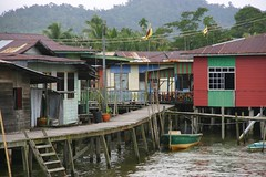 Pole houses, Brunei