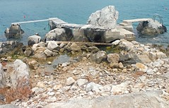 Twin Jetty (Lydie's) Tags: water rocks jetty steps croatia babinkuk