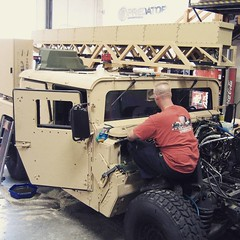 "Secret squirrel xray vision HMMWV.  www.PredatorInc.com  #hmmwv #socom #hummer #xray • <a style=""font-size:0.8em;"" href=""http://www.flickr.com/photos/51336812@N07/19787212253/"" target=""_blank"">View on Flickr</a>"