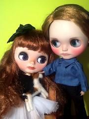 Blythe-a-Day August #2: Pets: Juliette, Alyosha & Zhutka