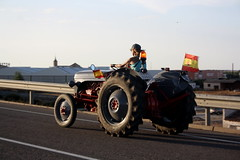 IMG_0410 (ACATCT) Tags: old espaa tractor spain traktor agosto toledo antiguo massey pistacho tembleque barreiros 2015 bustards perdices liebres avutardas ff30ds r350s