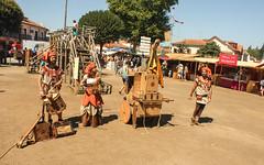 IMG_0285 (joaopedrodias) Tags: santa old costumes history portugal birds canon de ancient maria medieval feira da viagem past aveiro 450d