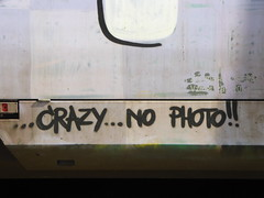 Crazy... no photo!! (duncan) Tags: traingraffiti ljubljana graffiti graffitiwisdom
