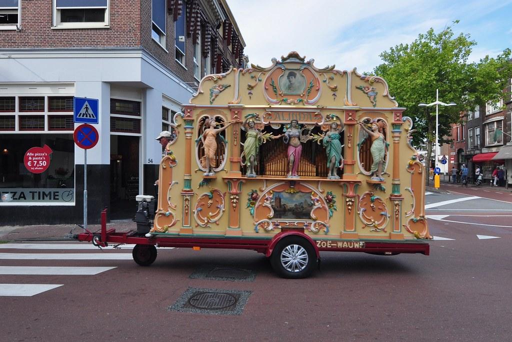Street-Organ Draaiorgel De Arabier Oud Amsterdam
