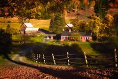 Sundown-at-the-Farm (Uncle_Greg) Tags: fall autumn vermont orange color sleepyhollowfarm country