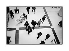 From above (cardijo) Tags: austria österreich salzburg street streetphotography strase bahnhof trainstation people menschen analog film kodak tmax400 yashicat4 carlzeiss tessar nikon coolscan
