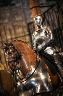 Knight on a horse