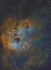 Tadpole new proc (__Aenima__) Tags: astrophotography astronomy deep sky image space stars nebula narrow band telescope