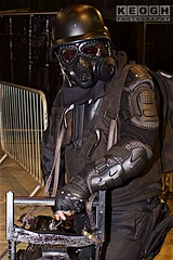 IMG_7275 (Neil Keogh Photography) Tags: amour black blue boots chaingun fortheloveofscifi2016 gasmask gloves goggles helghan helghast helmet jacket killzone killzone2 killzone3 killzoneshadowfall military minigun pants red silver utilitybelts videogame white