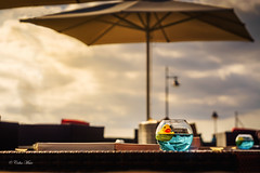 Ducky in the sun - 2016-11-19 15-27-15 - DSC08237-2 (colin.mair) Tags: 58mmmanuallens helios442 lanzarote yellow rubber duck bowl sony ilce6000 russian helios 58mm 442