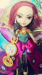 Lizzie Hearts custom (Way to Wonderland) (injustvee) Tags: custom veemo everafterhigh lizzie diy wonderland dolls doll