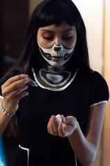Día de Muertos (SweetlunatiK) Tags: dia de muertos disfraz calaca