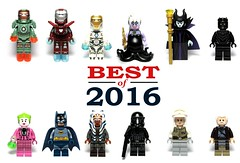 Best Official LEGO Minifigures - 2016 (Phoenix Custom Bricks) Tags: best minifigures minifig minifigure lego official superhero star wars disney marvel civil war rogue one batman