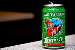 The Season almost over! (Texas.713) Tags: saintarnolds beer christmas rich ale houston texas craft brewery yeolde patron saint brewers santa first brery