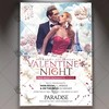 Valentines Night – Premium Flyer PSD Template (psdmarket) Tags: flyer hot love lover nightclub party roses template valentines valentinesday valentinesdayflyer valentinesflyer vday vdayflyer winter