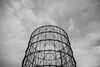 Gasometro (eric_Gimenez) Tags: photo rome roma ericg photographer photography italia foto biancoenero bianco e nero minimalismo allaperto cielo gasometro monocromo