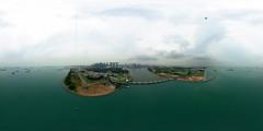 R0013004 (Erich Chew) Tags: richothetas singapore marinasouthsingapore marinabarrage marinaeast 16mdiyrokkakukite kap kiteaerialphotography