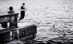 Go ahead, jump ! (steff808) Tags: sverige svezia suède suecia sweden stockholm stoccolma estocolmo noiretblanc blackandwhite blancoynegro bw biancoenero nikon nikond600 nikon2485