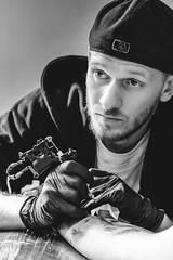 A Glance (Foto di Chris) Tags: tattoo tattooartist ink inkart portrait artistic editorial