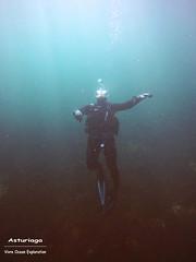 Asturiaga Underwater (YellowSingle 单黄) Tags: asturiaga underwater scuba diving fontarrabie hendaye vivre ocean atlantic plongée scaphandre gopro
