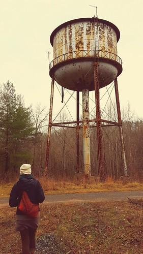 Water Tower near Natural Bridge, VA