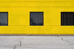 Indy#15937_Copy (Single-Tooth Productions) Tags: exteriorwall composition colorcomposition yellow yellowexteriorwall 3 three minimalism minimalistic architecturalminimalism architecturaldetail architecture architecturalcomposition windows tintedwindows npostrdindianapolis indiana urban city building buildingdetail buildingcomposition 50mm nikkor nikkor50mm nikond200 nikon 2d flat
