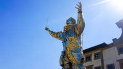 Spiritual Guards by Jan Fabre (grey_goshawk) Tags: florence nex5 tuscany spiritual guards jan fabre forte belvedere bronze sculpture