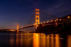 Golden Gate Brodge - Early Morning (AnotherSaru - Limited mode) Tags: sf goldengatebrigde sanfrancisco bayarea bridge night morning california ca landmark