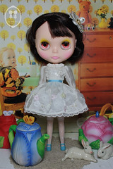 Blythe Outfit-White Bloom Set (pr-order limited 8 set only)