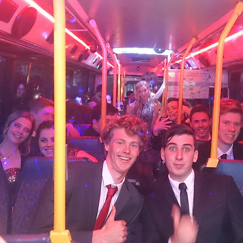 Start planning for your school formal. Get your classmates together and book a Party Shuttle bus to chauffeur your group to the formal. Call 04 500 600 55 to book.