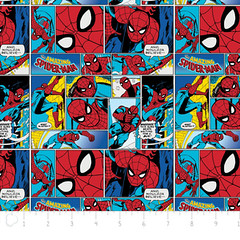 """(Camelot Cottons) Marvel Comic II, Spiderman In Multi • <a style=""""font-size:0.8em;"""" href=""""http://www.flickr.com/photos/132535894@N06/18578324028/"""" target=""""_blank"""">View on Flickr</a>"""
