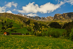 Graubünden - Switzerland ~ Explore (Kat-i) Tags: sky mountains alps clouds schweiz rocks meadows wiesen himmel wolken berge alpen kati katharina felsen 2015 graubünden splügen switzerländ nikon1v1