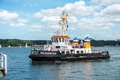 Schiff auf der Kieler Frde (Rainer Beyer) Tags: de deutschland kiel schleswigholstein
