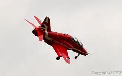 Red Arrows (LVNWtransFoto) Tags: newcastle hawk aircraft redarrows newcastleairport sunderlandairshow canoneos1dmkiv