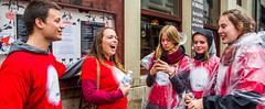 """Zinneke Parade 2014 - """"Samouras"""" & volontaires - (Vol 3) (saigneurdeguerre) Tags: brussels 3 canon europa europe belgium belgique 10 mark iii belgi bruxelles parade ponte mai 5d mei brssel brussel belgica bruxelas maio belgien zinneke 2014 aponte voluntarios volontaires vrijwillegers antonioponte ponteantonio saigneurdeguerre volontarios"""