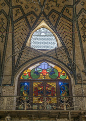 The Stained Glass Windows Of The Old Bazaar, Shemiranat County, Tehran, Iran (Eric Lafforgue) Tags: sunlight abstract color colour reflection brick history window glass vertical architecture photography design asia day ray pattern arch colours iran market interior patterns traditional capital decoration middleeast indoor persia ceiling illuminated inner indoors dome refraction souk column colourful bazaar tehran orient bazar teheran illuminate glasswork elaborate إيران иран colourimage イラン irão 伊朗 builtstructure 이란 shemiranatcounty iran150517
