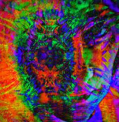 Not Necessarily Stoned ... (virtually_supine) Tags: portrait photomanipulation digitalart creative vividcolour layers psychedelic hallucenogenic liquify photoshopelements9 areyouexperiencedbyjimihendrix kreativepeopletreatthis88sourceimagesunsetonthebeachbyabstractartangelsotnchallenge41~brainstormsportraitvividcolourpsychedeliccolourcreativehallucenogenicareyouexperiencedbyjimihendrixphotomanipulationdigitalarttextu invertpicasa3effectortonish sotnchallenge41brainstorms