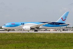 PH-TFM-2 (amcripps57) Tags: netherlands make airport europe aircraft boeing airlines registration b787 kmia arkefly phtfm