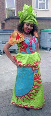 A lady from Guinea-Bissau (Moldovia) Tags: africa colors lady female colours dress african phonecamera guineabissau htconex