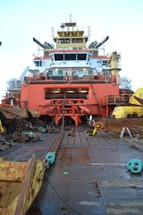 Ready to rumble (Haakoon) Tags: offshore ahts anchorhandler anchorhandling normandprosper prelay